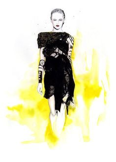 Caroline Andrieu Fashion Illustrations | Trendland: Fashion Blog & Trend Magazine