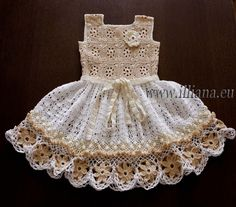 Crochet dress. PDF Pattern . No 85 by Illiana on Etsy https://www.etsy.com/listing/162172239/crochet-dress-pdf-pattern-no-85