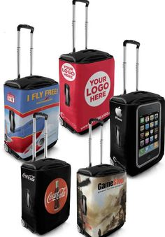 TSA Approved Bag Covers To Dress Your luggage... A Great Product!