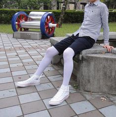 b9e0cb2df30 Long time no see my white tights