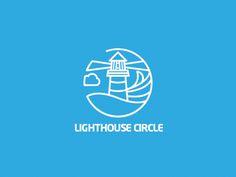 Dribbble - LIGHTHOUSE CIRCLE by Tamas Kojo