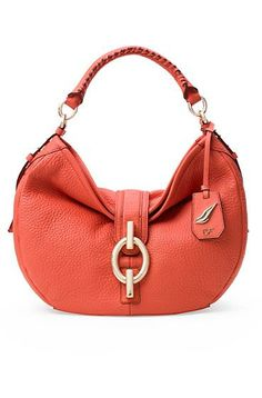 Sutra Leather Hobo Bag In Sunburnt