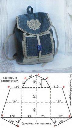 Diy bags 785737466216830628 - 8 Moldes para hacer Source by schrederanne Bag Patterns To Sew, Sewing Patterns, Mochila Jeans, Blue Jean Purses, Denim Handbags, Denim Crafts, Recycle Jeans, Denim Bag, Denim Backpack