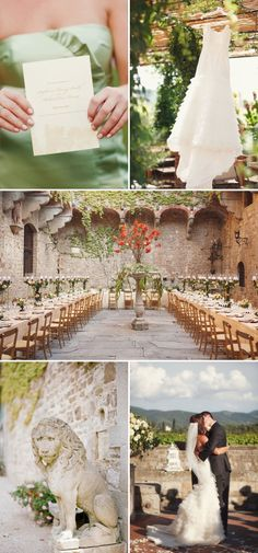 Wedding in Italy? Pretty sure it doesn't get any better.  Destination wedding in Italy