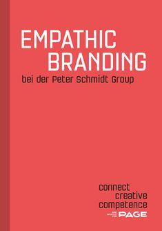 Corporate Identity, Corporate Design, Schmidt, Page Online, Booklet, Creative, Logo Design, Branding, Brand Management