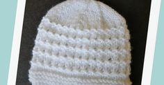 "Kensington Baby Hat Kensington Hats  baby, child, teen DK yarn 4mm & 5mm needles Tension ~ 22sts = 4"" (10cm)  ..."