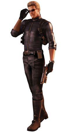 Albert Wesker - Characters & Art - Resident Evil: The Mercenaries 3D