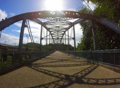 Puente antiguo en Trujillo Alto construido en el 1941.