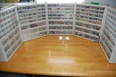 Something like this would be a good way to store lego accessories and tiny parts.