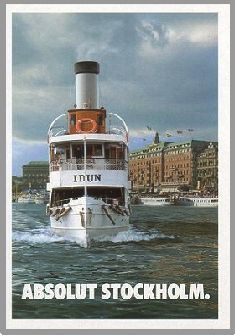 Stockholm - PromoCard from Italy