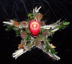 Wiccan Pagan Large Lime Wood Altar / Wall Pentagram. Ceremonial, Sabbat.. £7.50, via Etsy.