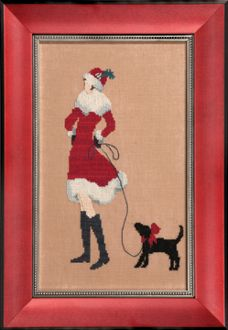 Red Puppy by Nora Corbett - Mirabilia Designs Counted Cross stitch pattern
