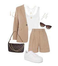 Komplette Outfits, Teen Fashion Outfits, Korean Outfits, Retro Outfits, Cute Casual Outfits, Simple Outfits, Polyvore Outfits, Look Fashion, Stylish Outfits