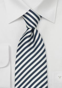 """Modern Striped Ties<br>Striped Tie \""""Signals\"""" by Parsley"""