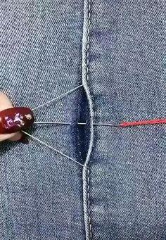 Sewing Basics, Sewing Hacks, Sewing Tutorials, Sewing Crafts, Sewing Projects, Diy Clothes Life Hacks, Diy Clothes And Shoes, Sewing Clothes, Diy Fashion Hacks