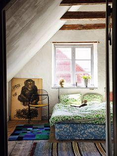 Keltainen talo rannalla: Koteja Ruotsista