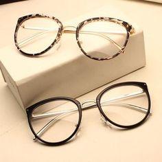 moda óptica à venda a preços razoáveis, comprar Óculos Óculos de Armação  Moda Vintage Preto de Metal Frame Ótico Óculos De Leitura Mulheres Óculos  Frames ... 6fc7c07cf0