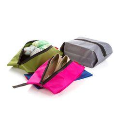 Shoe Racks & Organizers Waterproof Shoe Storage Tote Zipper Bag Large Travel Dust Bag Sport Organizer Uk Beautiful And Charming