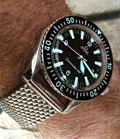 Vintage OMEGA Seamaster 300 Diver In Stainless Steel Circa 1960s
