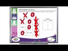 Musical Terms Tic Tac Toe   Resources for Music Education