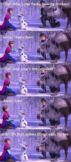 Olaf...