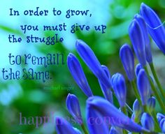 """""""Give up struggle to remain the same"""" Remain The Same, Coincidences, Change Quotes, You Must, Giving Up, Beautiful Words, Awakening, Wise Words, Me Quotes"""
