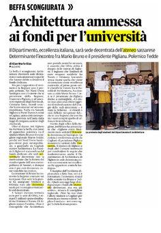 La Nuova Sardegna, pag. 28, 12 novembre 2015 #AaA