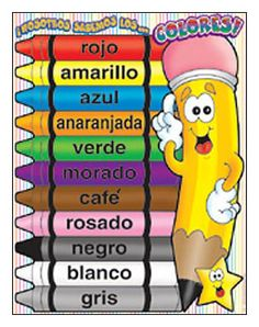 practicar los colores espanol - Google Search