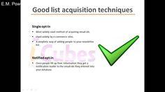 Email Marketing Tips - List Hygiene