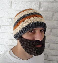 Man gifts: beard beanie