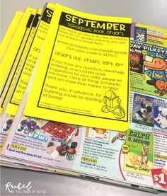 Getting the Most Out of Scholastic Book Orders | All About 3rd Grade
