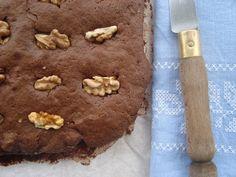 Bocadinhos de Açúcar: Brownies de nozes e caramelo