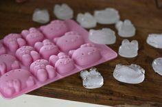 sanrio characters ice tray :)