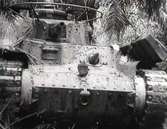 "Imperial Japanese Army Medium Tank Type 97 ""Chi-ha""  In the Malay Peninsula  九七式中戦車 チハ"