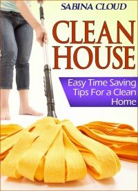 """FREE Kindle Days:  Sept 4 – 5     It's time to learn the art of proper house cleaning. Believe it or not, you can have a clean home and have a social life too! In """"Clean House: Easy Time Saving Tips for a Clean Home,"""" you will learn just how to perfect the art of cleaning so that you do have time for other things in your life."""
