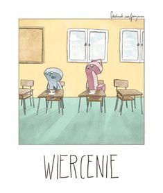 ''Jest pan podły'' może znaczyć coś innego, niż myślicie. Zrozumiecie, kiedy zobaczycie te genialne rysunki Polish Memes, Haha, Gallery Wall, Jokes, Humor, Cool Stuff, Funny Things, Universe, Smile
