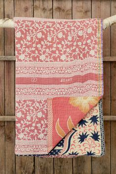 Kantha quilt 20: by