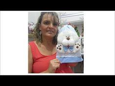 Nesse video ensino passo a passo como faz a naninha de ursinho.
