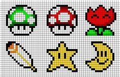 Mönster till Super Mario-pärlplattor: