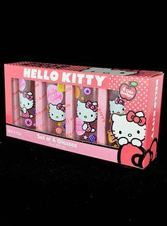 Hello Kitty Drinking Glass Set