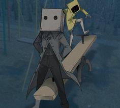 Piskel Art, Creepy, Scary, Character Art, Character Design, Little Nightmares Fanart, Video Game Art, Animes Wallpapers, Funny Comics