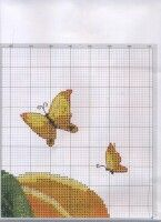 """Gallery.ru / celita - Альбом """"******"""" Kitchen Wall Art, Cutting Board, Projects To Try, Cross Stitch, Cross Stitch Kitchen, Punto De Cruz, Dots, Seed Stitch, Cross Stitches"""