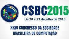 Estão abertas as inscrições para o XXXV Congresso da Sociedade Brasileira de Computação