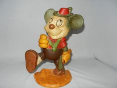 Vintage Mickey Mouse Cast Iron Door Stop