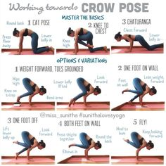 Yoga tutorial for working towards Crow Pose, Yoga Arm Balance Miss Sun . Yoga tutorial for working towards Crow Pose, Yoga Arm Balance Miss Sunitha … – Yoga Crow Pose, Cat Pose, Yoga Fitness, Image Yoga, Yoga Balance Poses, Hata Yoga, Difficult Yoga Poses, 7 Workout, Workout Videos
