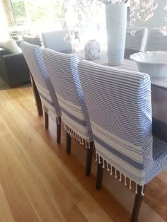 DIY: How To Make a Chair Cover / Slip Cover Tutori... | Sewing ...