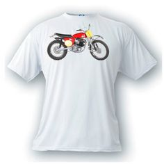 Greeves griffon vintage image motorcycle t-shirt