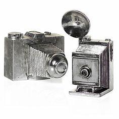 Z Gallerie - Antique Silver Cameras