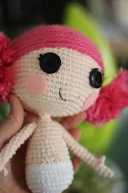 Resultado de imagem para lalaloopsy rosebud crochet
