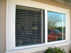 Plisse Window Retractable Screens